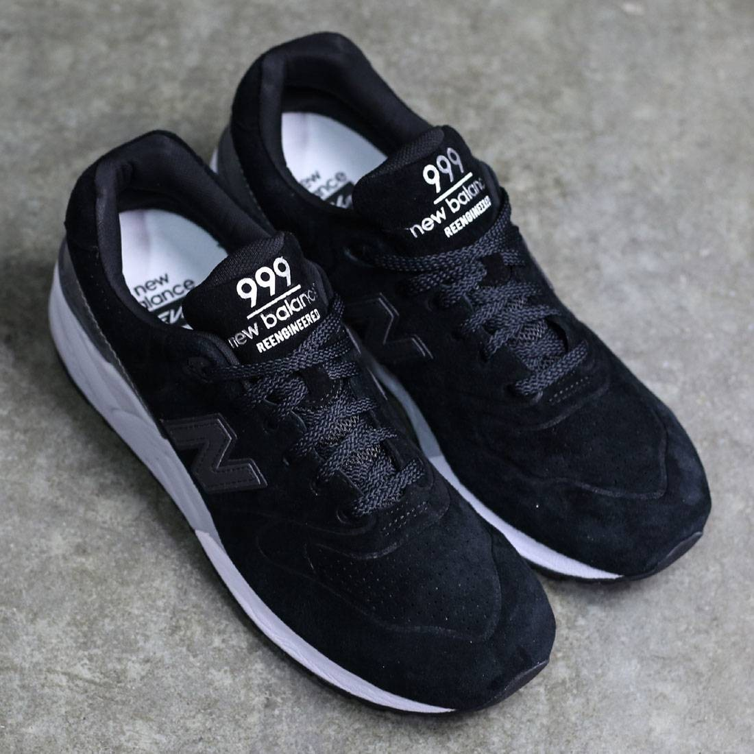 newest collection 6301e 1f4e8 New Balance Men 999 Re-Engineered Suede MRL999BA (black / grey)
