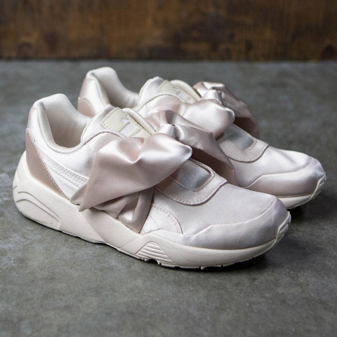 info for cfcce 76665 Puma x Fenty By Rihanna Women Bow Sneaker (pink / pink tint)