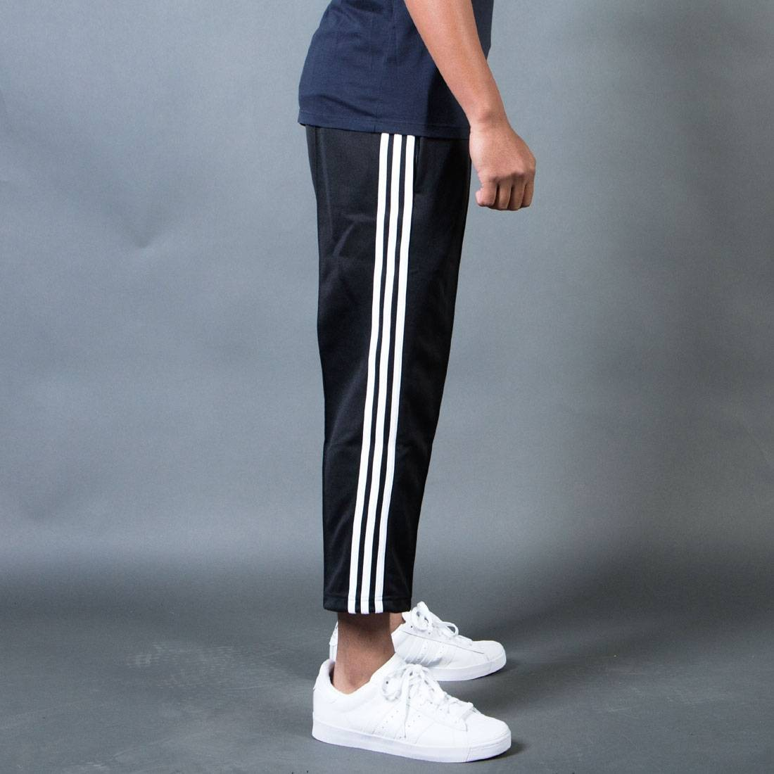 White Superstar Pantsblack Relaxed Cropped Track Men Adidas lJ5TK3Fu1c