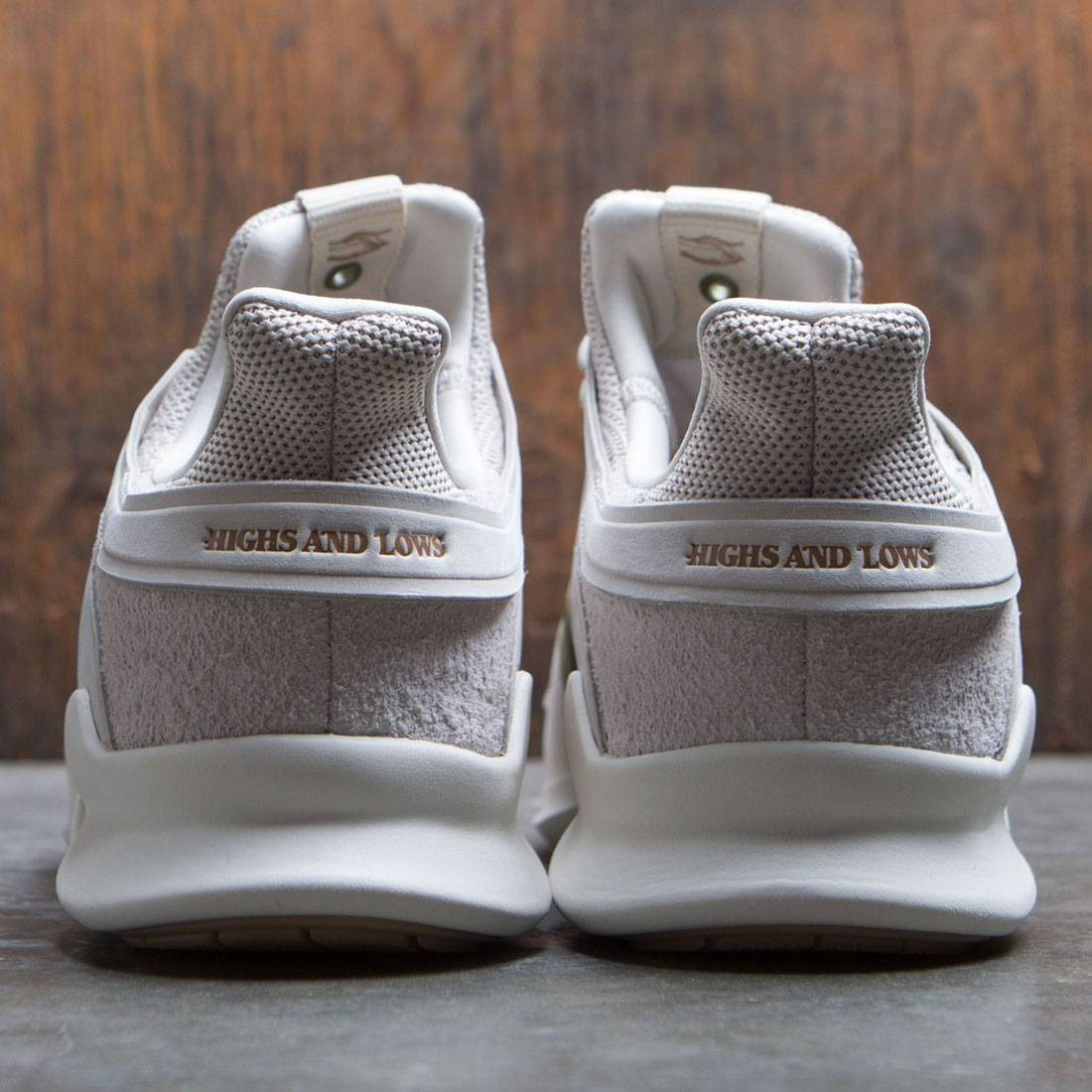 quality design 11402 08c4d Adidas Consortium x Highs And Lows Men EQT Support ADV (brown  linen   carboard)