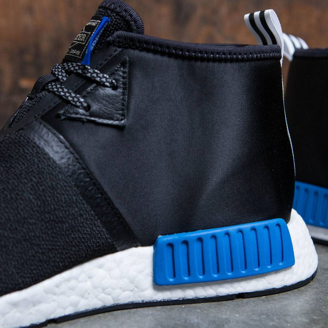 new arrival 6def5 3bd14 Adidas x Porter Men NMD C1 (black   core black   footwear white)