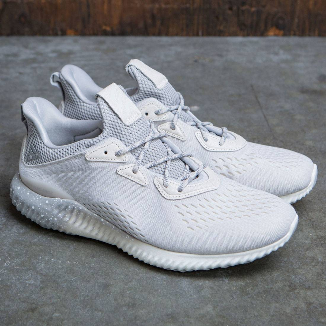fa8d4d417ae Adidas x Reigning Champ Men Alphabounce 1 (white   chalk white   grey two)