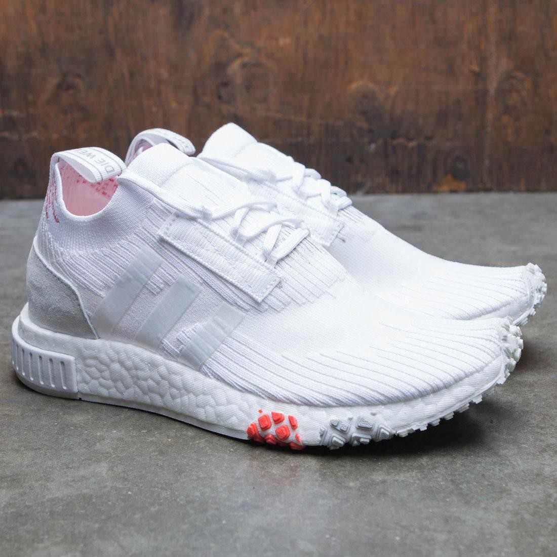 official photos 74b03 d5900 Adidas Women NMD Racer PK W (white / footwear white / trace scarlet)
