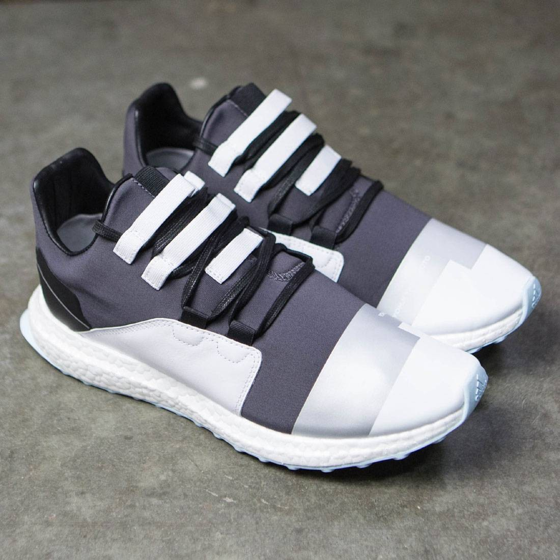 951fa605bbf7 Adidas Y-3 Men Kozoko Low (black   reflective silver   footwear white)