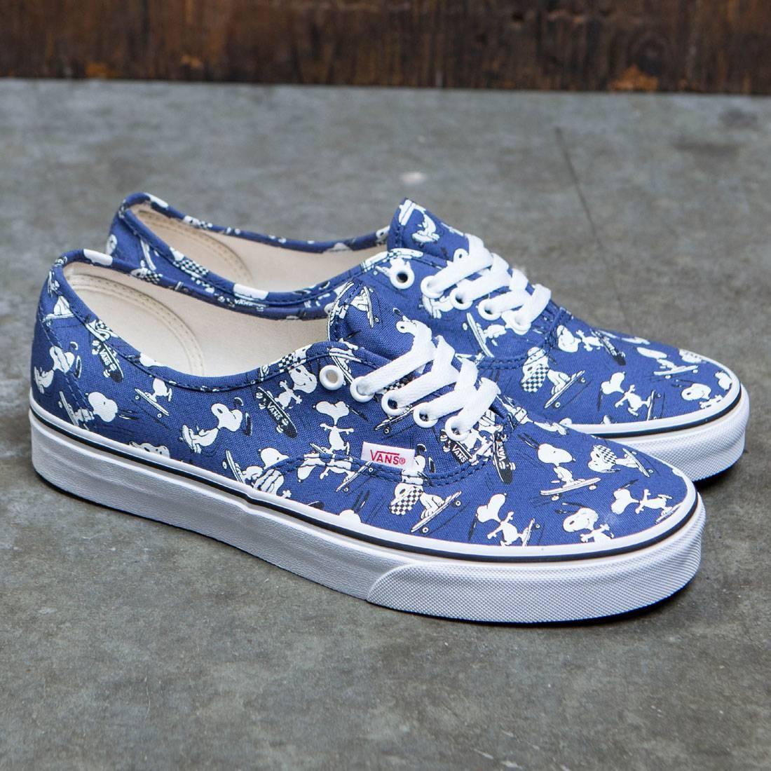 e5af68c2ac Vans x Peanuts Men Authentic - Snoopy Skating (blue)