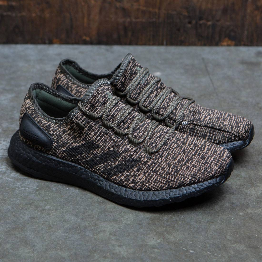 bbd46a26c Adidas Men PureBOOST (brown   night cargo   core black)