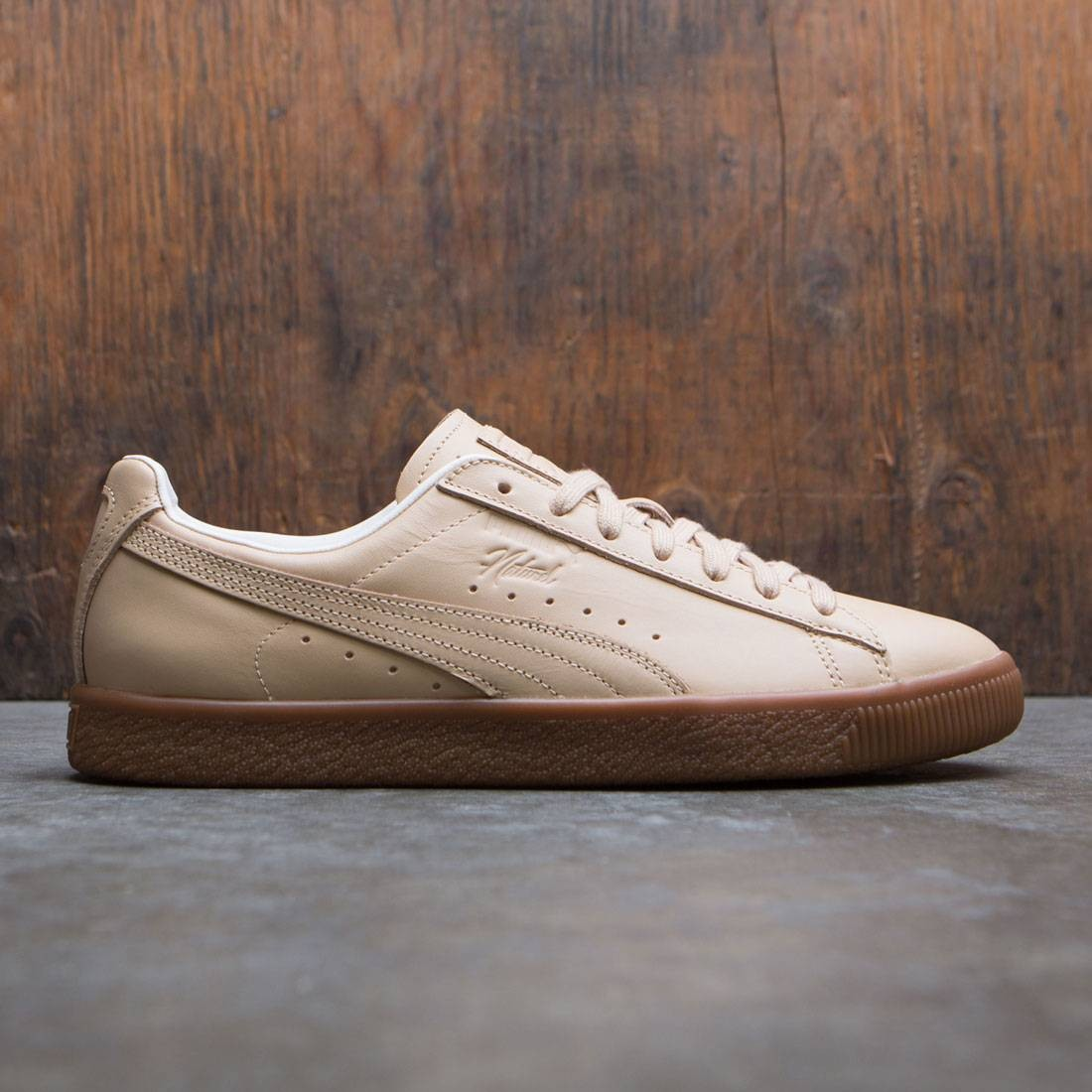promo code a923d f323a Puma x Naturel Men Clyde - Veg Tan (brown / natural vachetta)