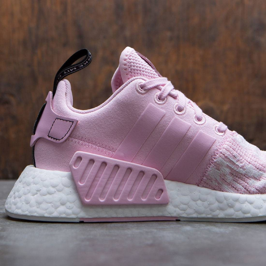 Mejor Adidas NMD R2 W mujeres Core Negro Rosa