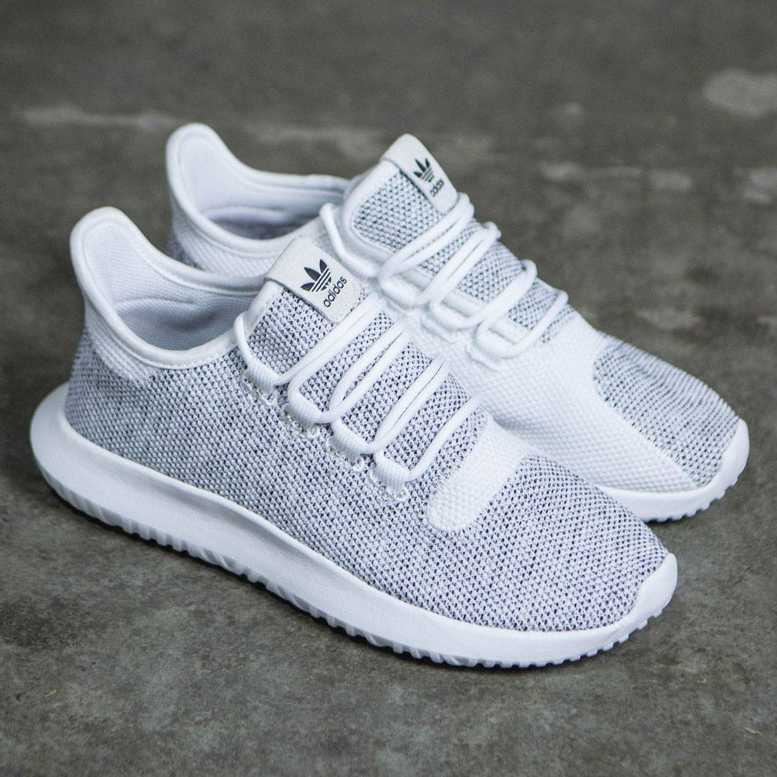 huge selection of 68060 14e35 Adidas Men Tubular Shadow Knit (white / ftwwht / cblack)