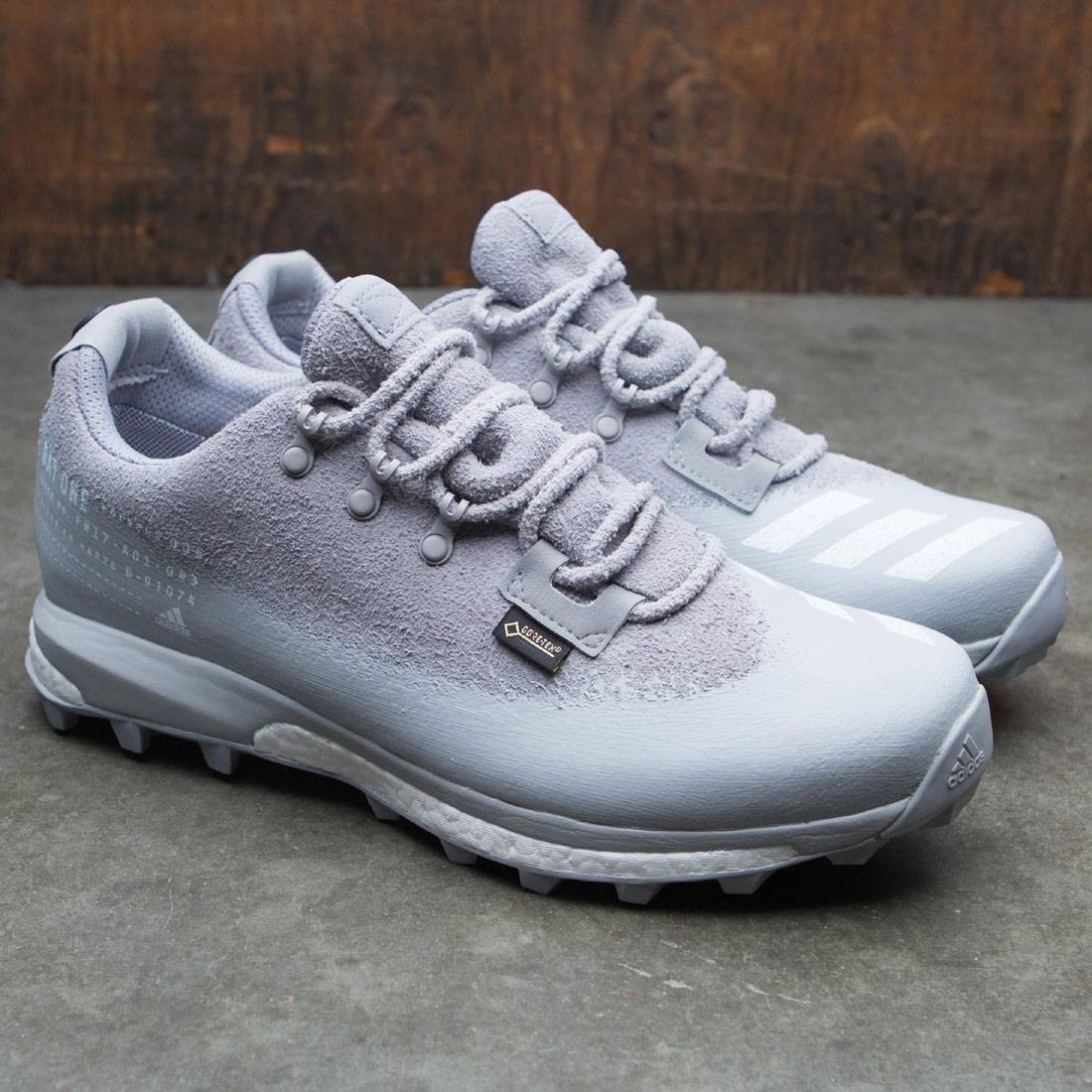 new lifestyle best value good service Adidas Day One Men Terrex Agravic (gray / light onix / white / black /  stone)
