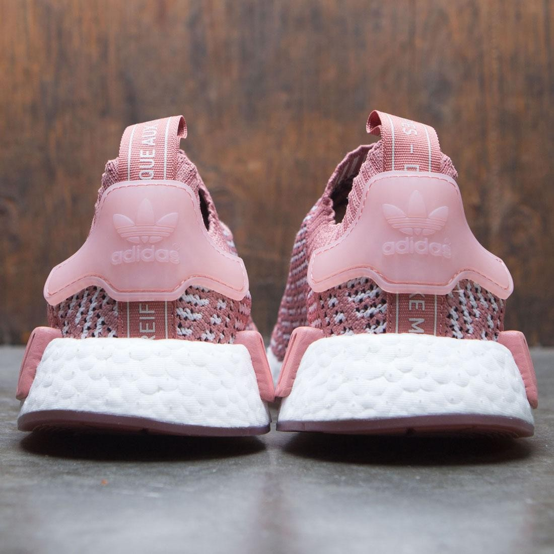 dc75a20e0 Adidas Women NMD R1 STLT Primeknit W (pink   ash pink   orchid tint    footwear white)