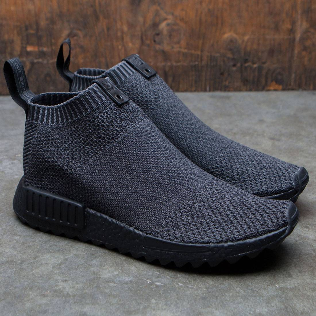 7ee7980ccbc5d Adidas Consortium x The Good Will Out Men NMD CS1 Primeknit (black   core  black)