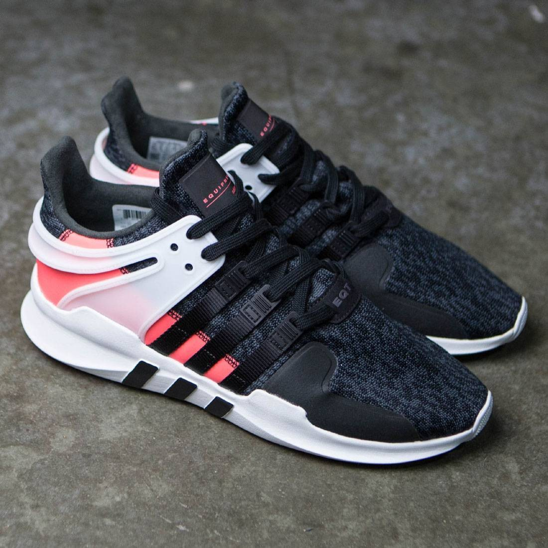 half off f465c 0c52d Adidas Men EQT SUPPORT ADV (black / core black / turbo red)
