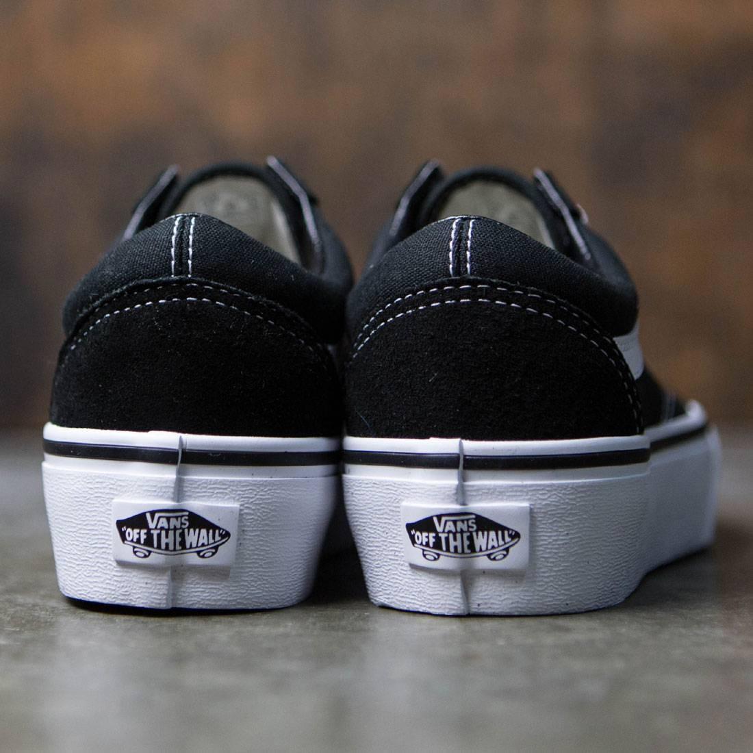 414b4f93b4b4 Vans Women Old Skool Platform (black   white)