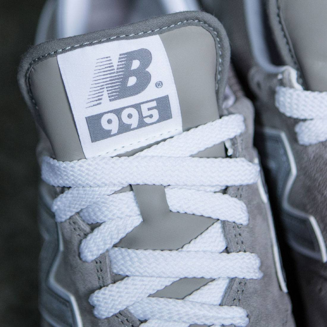 New Balance Men 995 - Made In USA (gray / silver)