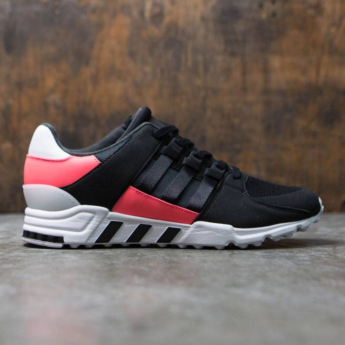 half off 3eedd d34e1 Adidas Men EQT Support RF (black / core black / turbo red)