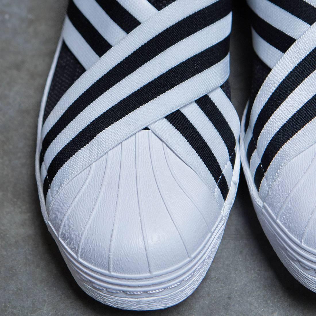 Schuhe Adidas Weiß Mountaineering Superstar Slip On Schwarz