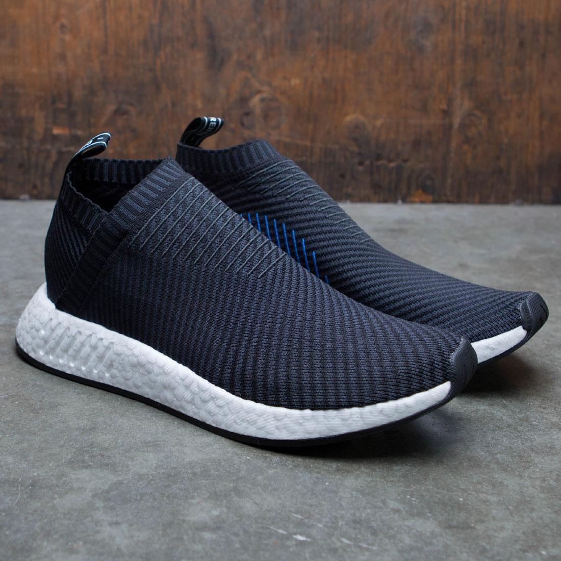 cc6298478d1 Adidas Men NMD CS2 Primeknit (black   carbon   red solid)