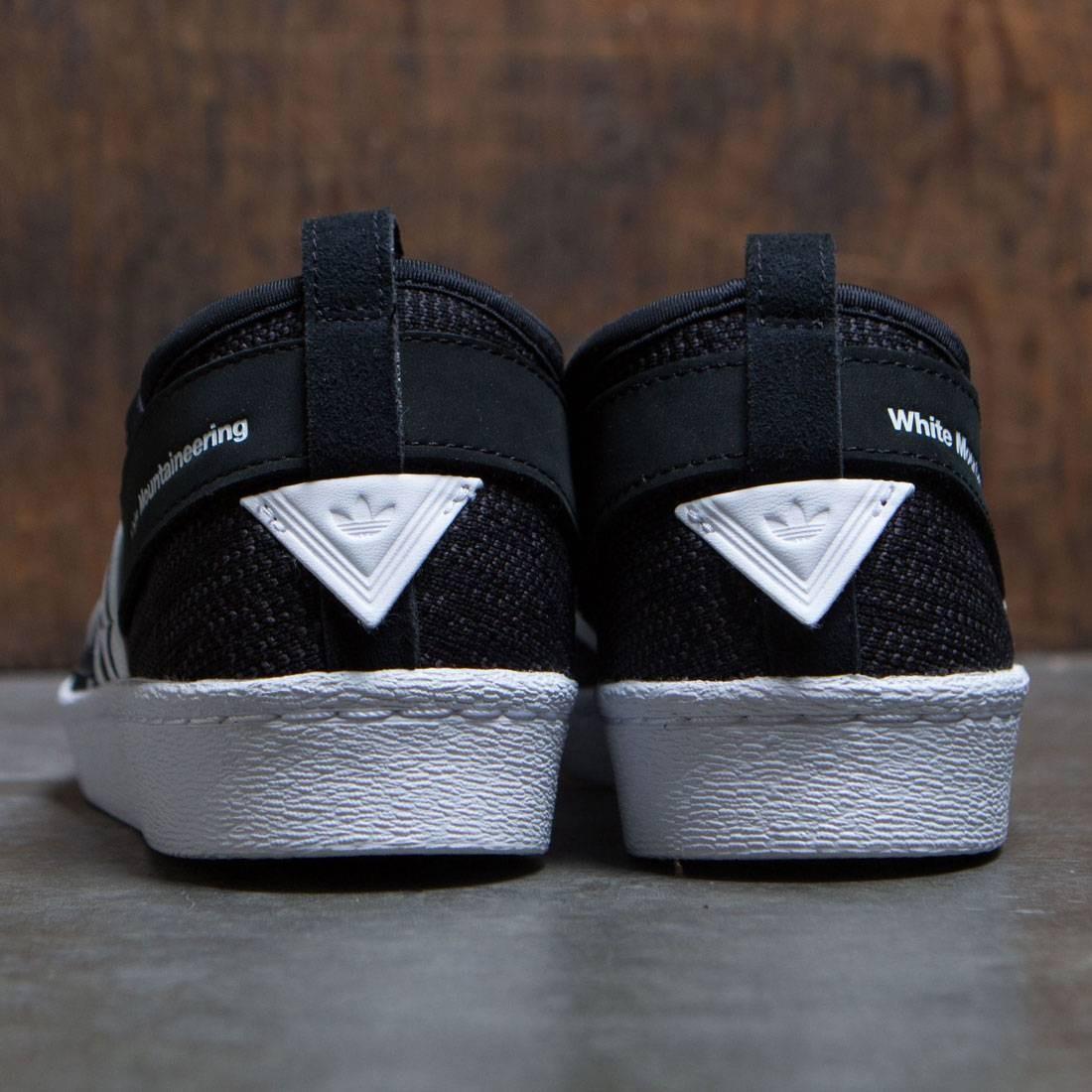 043f7f9abc25 Adidas Men White Mountaineering Superstar Slip-On Primeknit (black   core  black   footwear white)