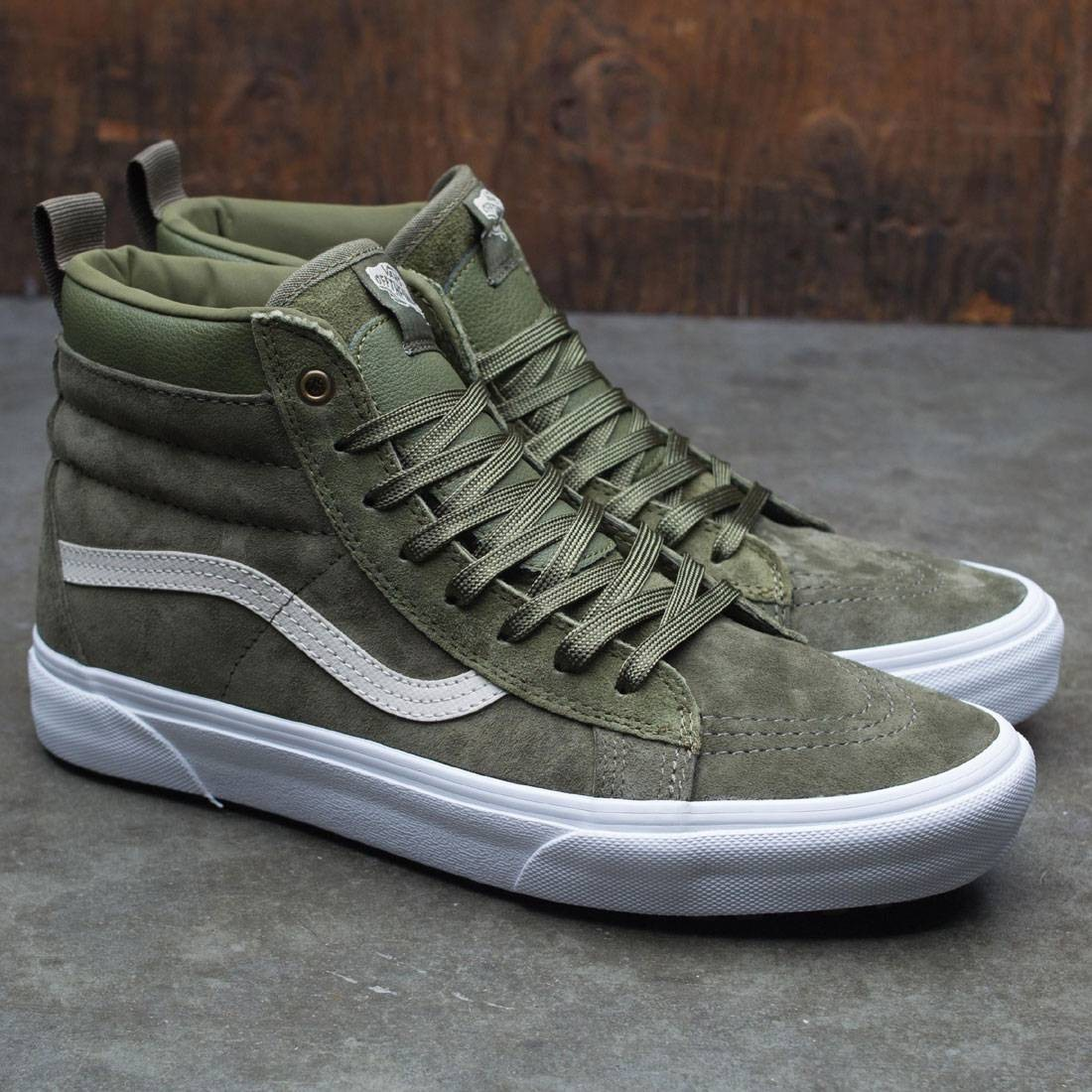 7dcc0b4dd6f38b Vans Men SK8-Hi MTE (green   winter moss)