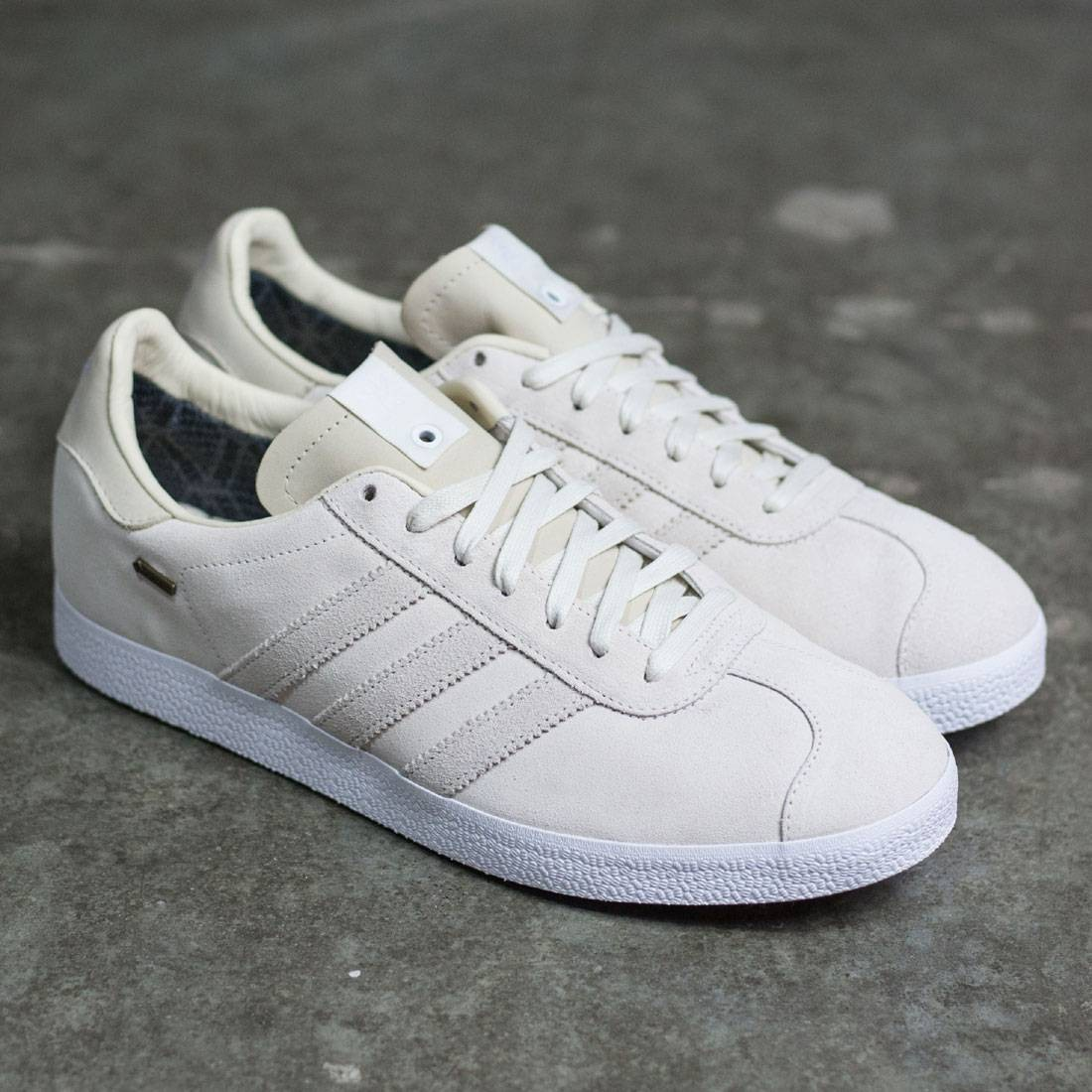 new products ca545 1f0d7 Adidas Consortium x Saint Alfred Men Gazelle OG GTX (white  off white   chalk white)
