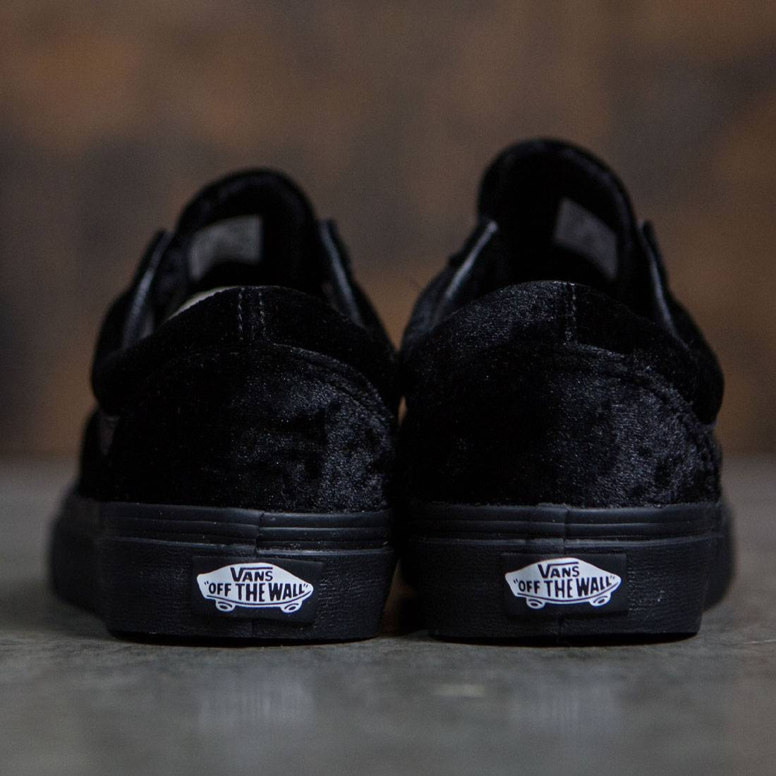 Vans Women Old Skool - Velvet (black   black) 9e02976ef