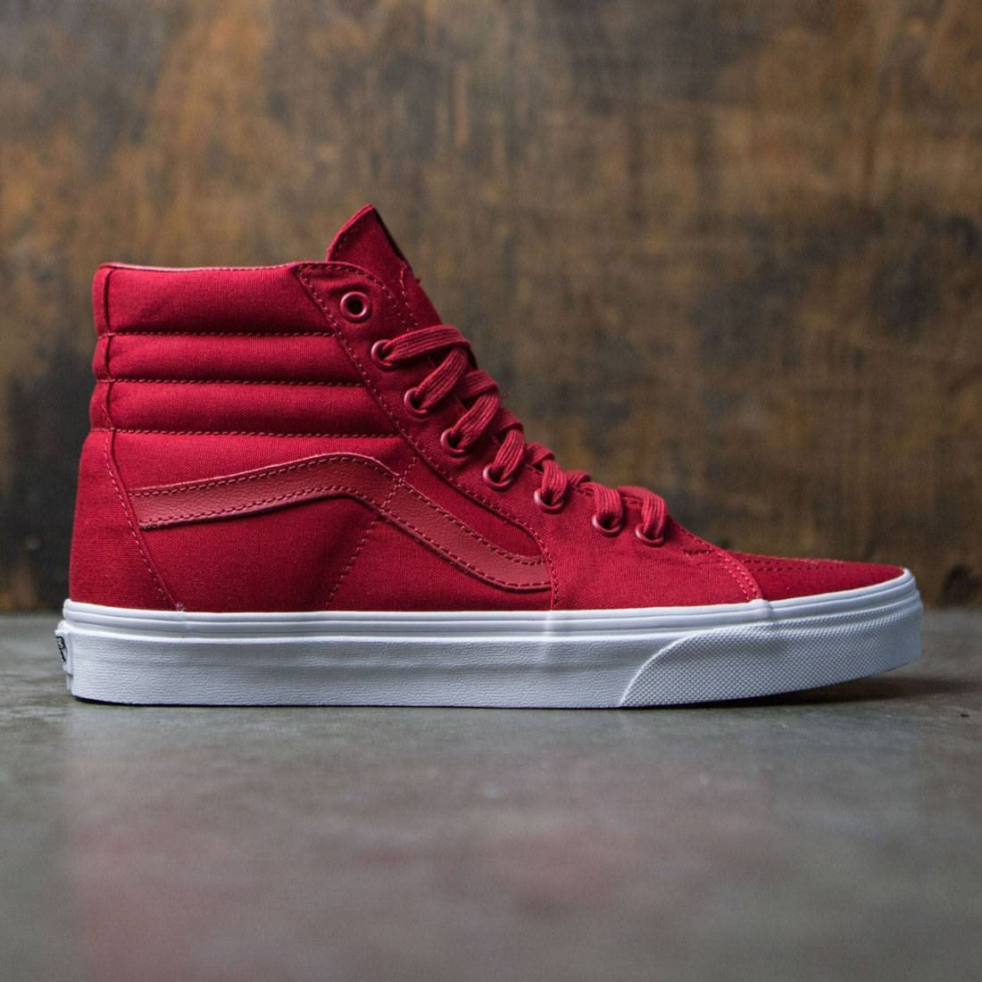 Vans Men Sk8-Hi - Mono Canvas red
