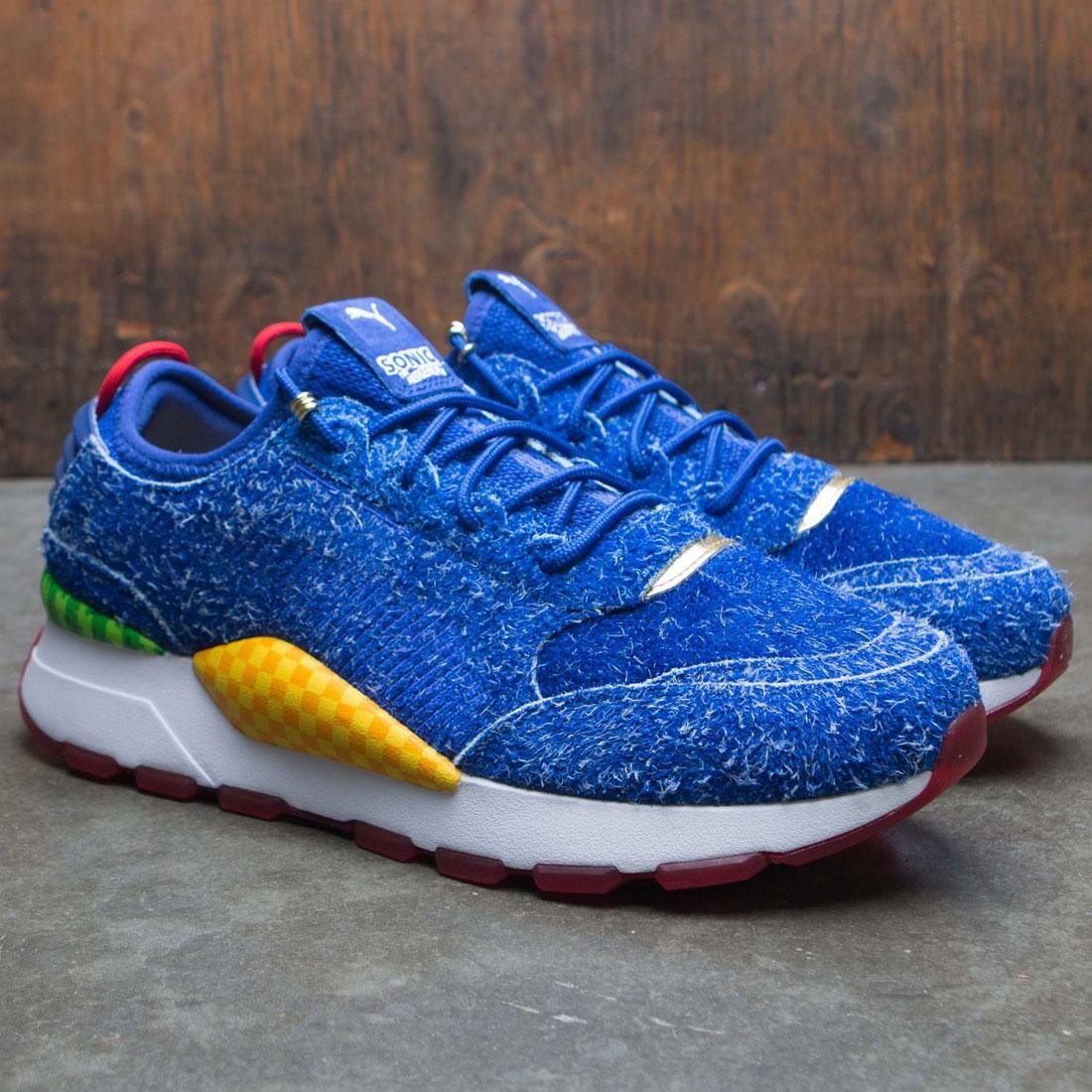 Puma X Sonic The Hedgehog Men Rs 0 Sonic Blue Surf White