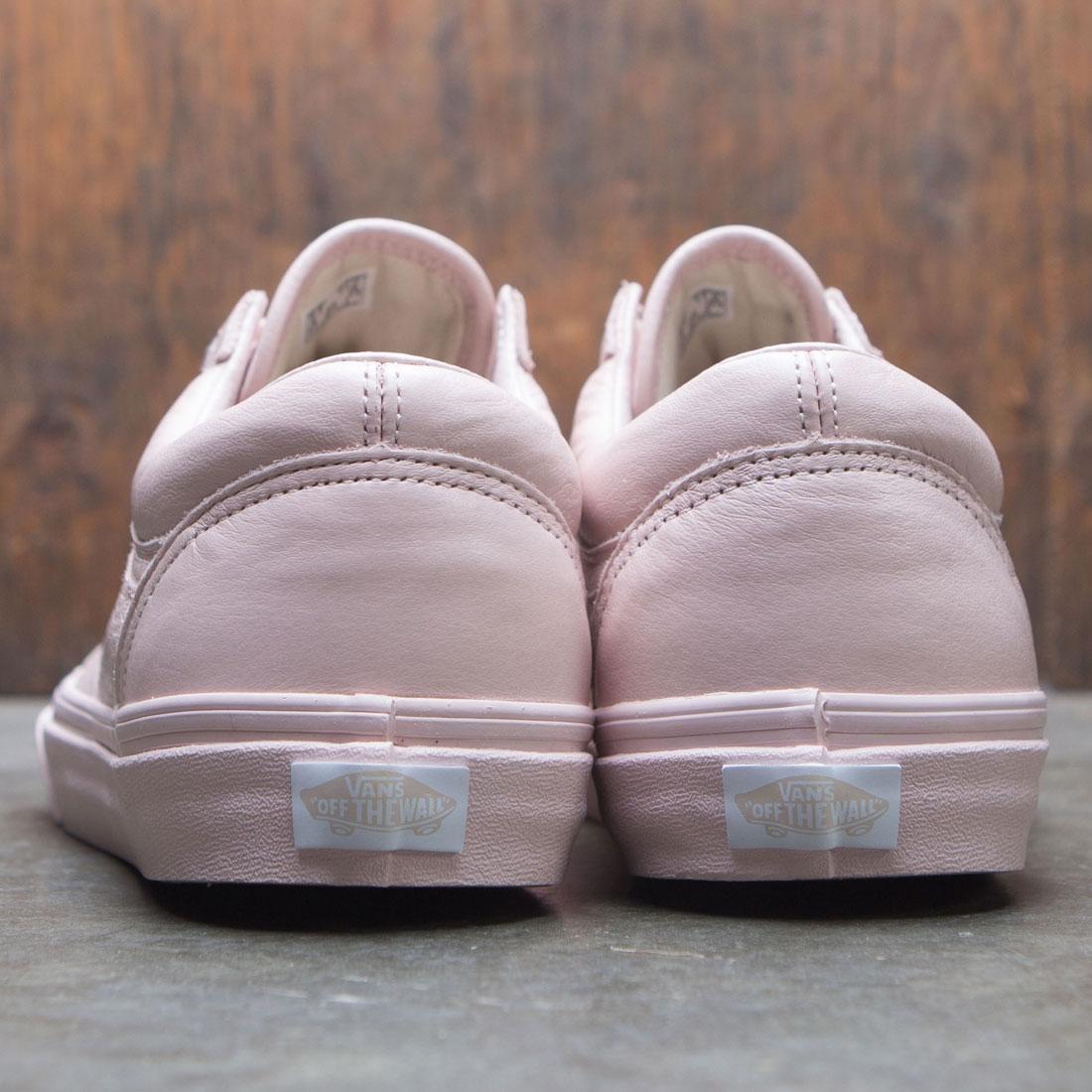 fde9df87b43d25 Vans Men Old Skool - Leather (pink   sepia rose)