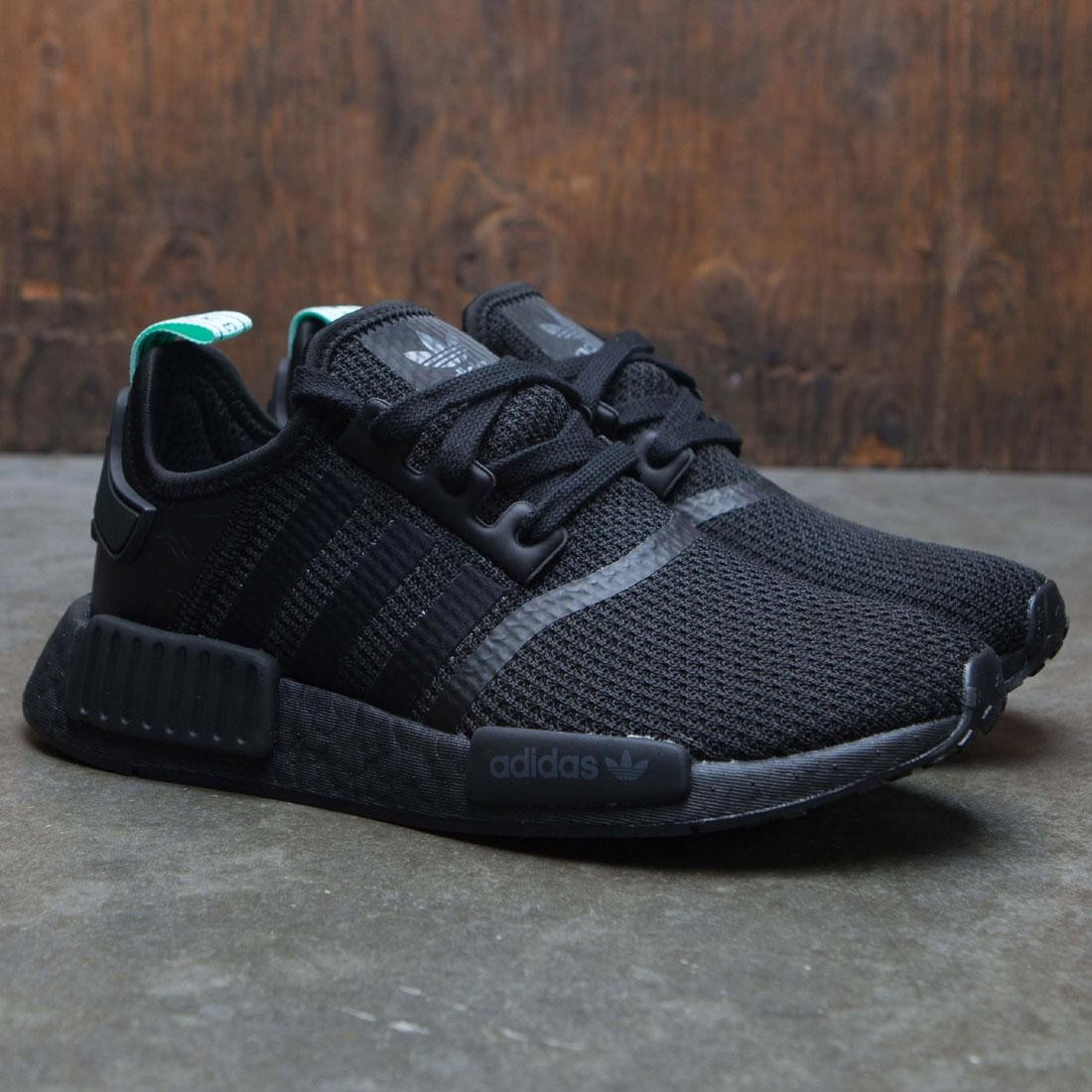 a57bfa00e3749 Adidas Women NMD R1 W (black   core black   clear mint)