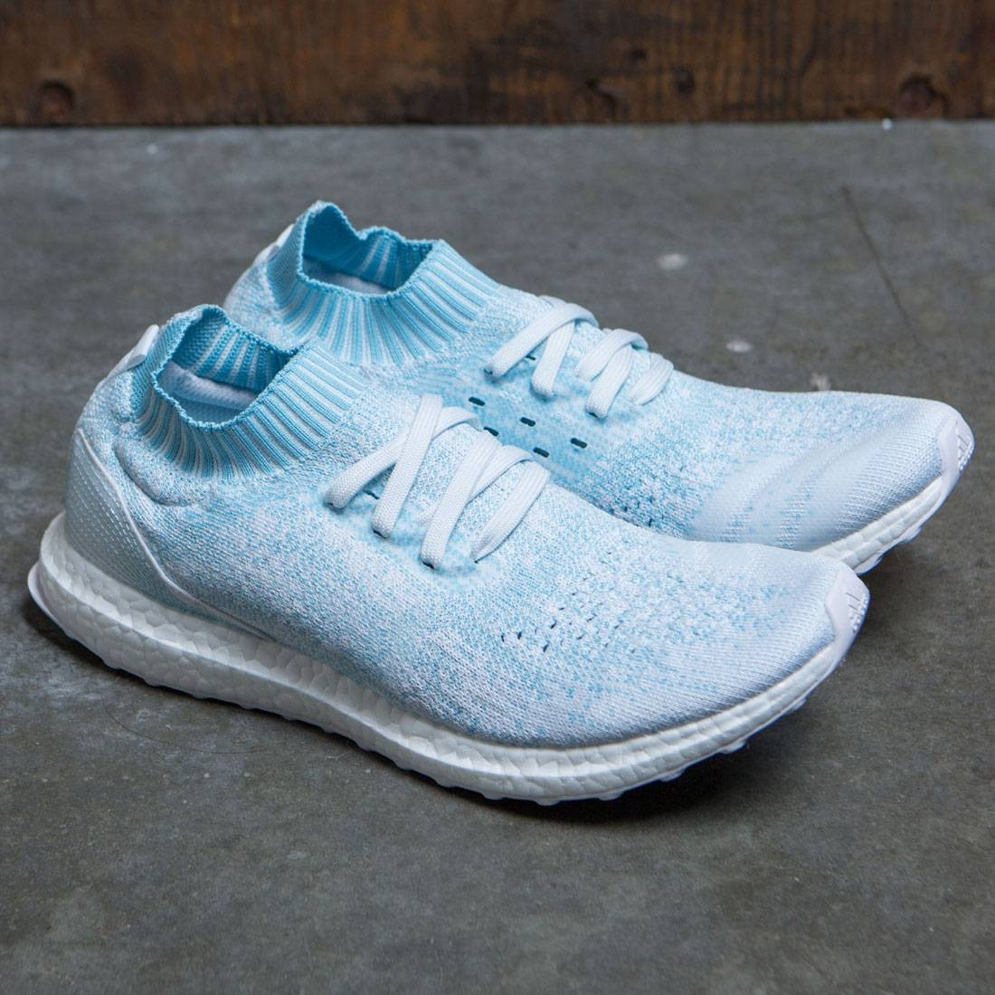 the latest 94ecf 1cd40 Adidas Men UltraBOOST Uncaged Parley (blue / icey blue / footwear white)
