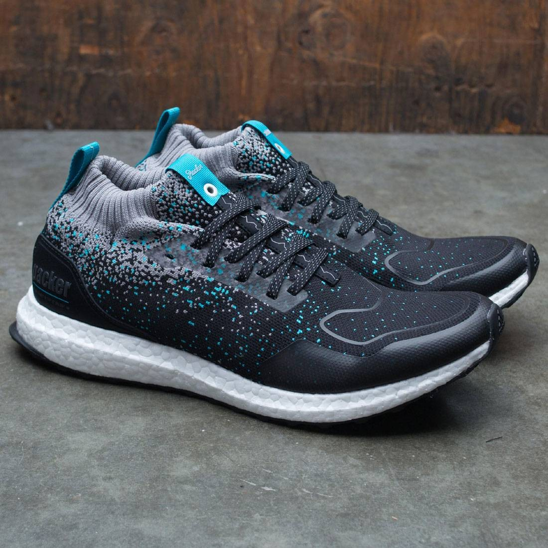 8655a9bbeed Adidas Consortium x Packer x Solebox Men UltraBOOST Mid Sneaker Exchange  (black / core black / energy blue)