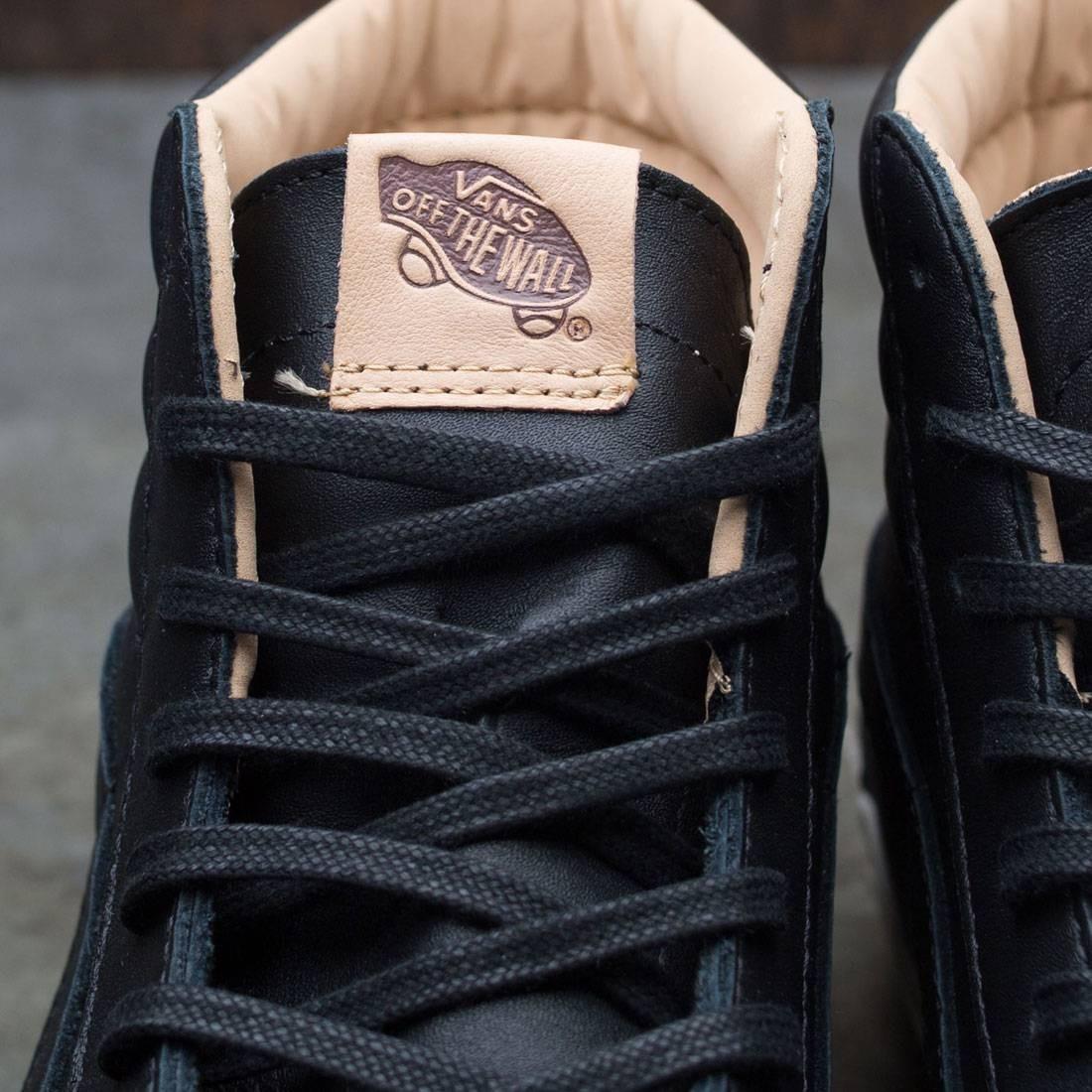 vans lux leather