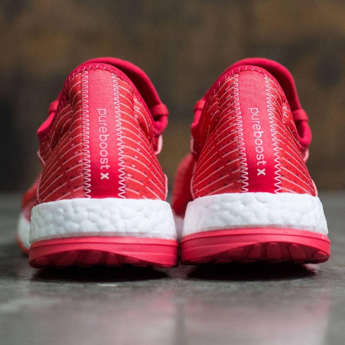 cc03a64f2c850 Adidas Women Pure Boost X (red   ray red   vapour pink   footwear white)