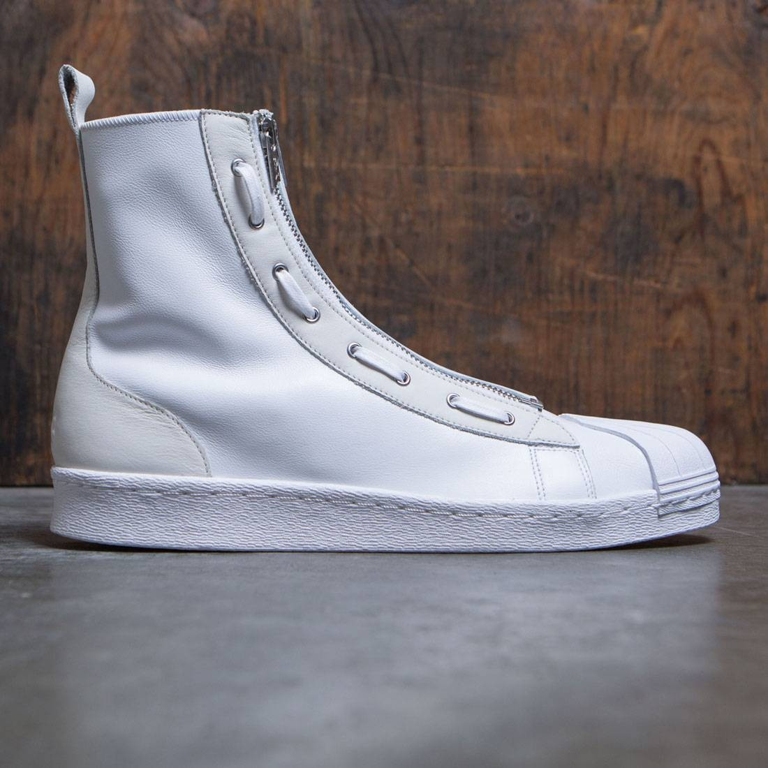e64364d079ec7 Adidas Y-3 Men Pro Zip white footwear white