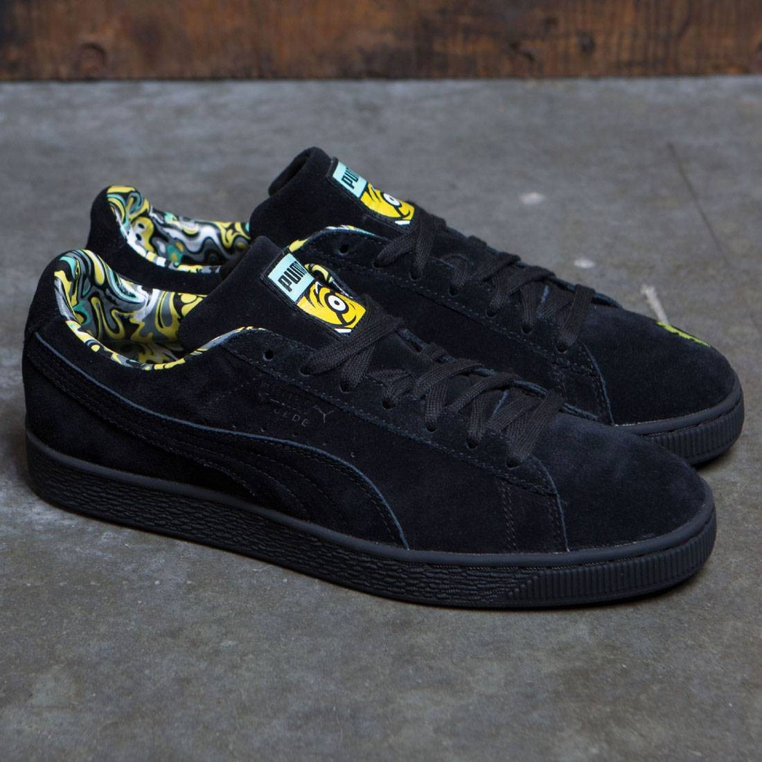 brand new 723e5 4612a Puma x Minions Men Suede (black)