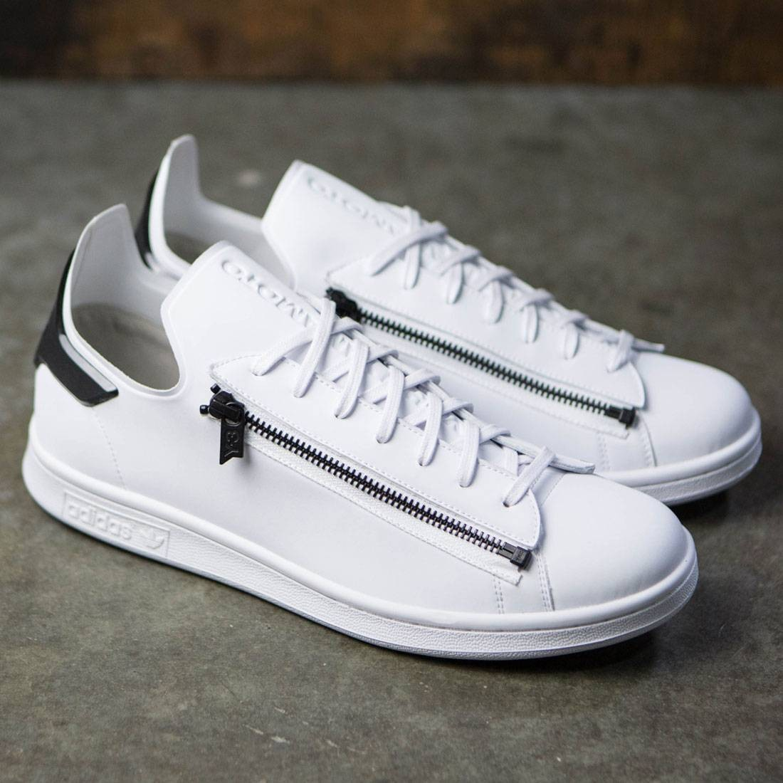 9456fe295624 Adidas Y-3 Men Stan Zip (white   footwear white   core black)