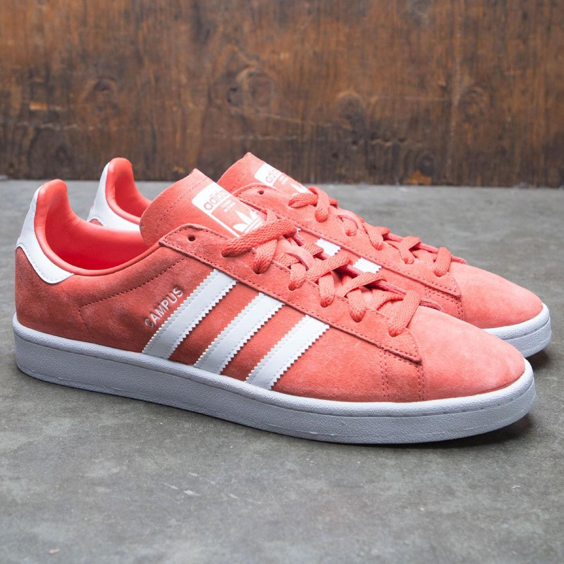 a1877c941a43 Adidas Men Campus (red   trace scarlet   footwear white)