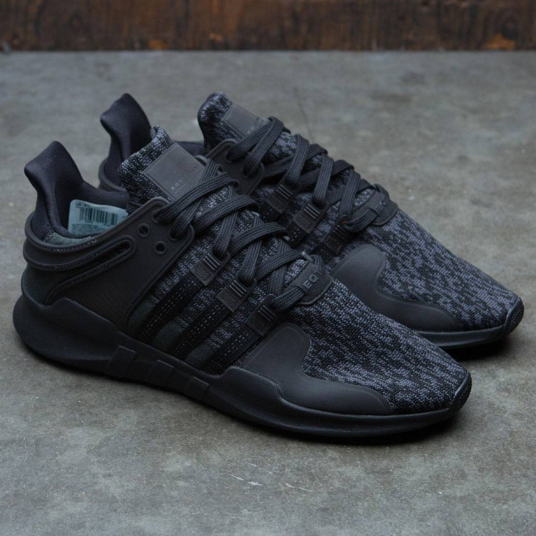 best loved faf34 c4d82 Adidas Men EQT Support ADV (black  core black  sub green)