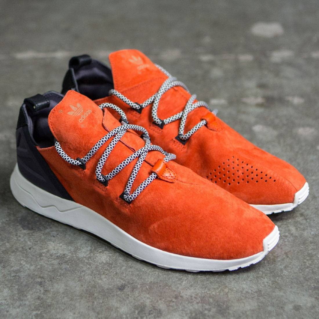 14c7d212ec5 Adidas Men ZX Flux ADV X (orange   crachi   core black)