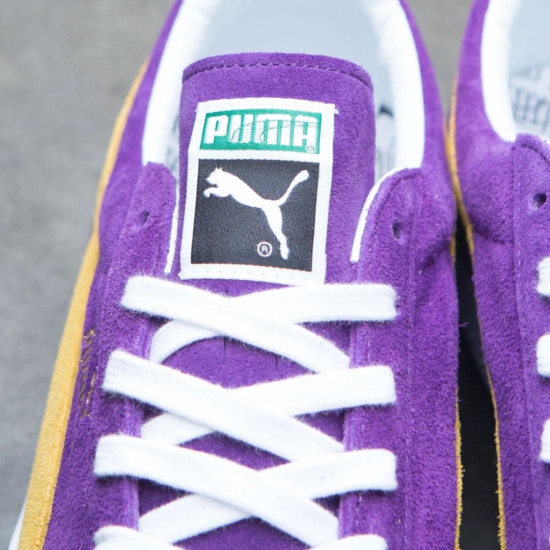 c4211b14ed2b Puma Men Suede Classic - Made In Japan Collectors (purple   yellow)