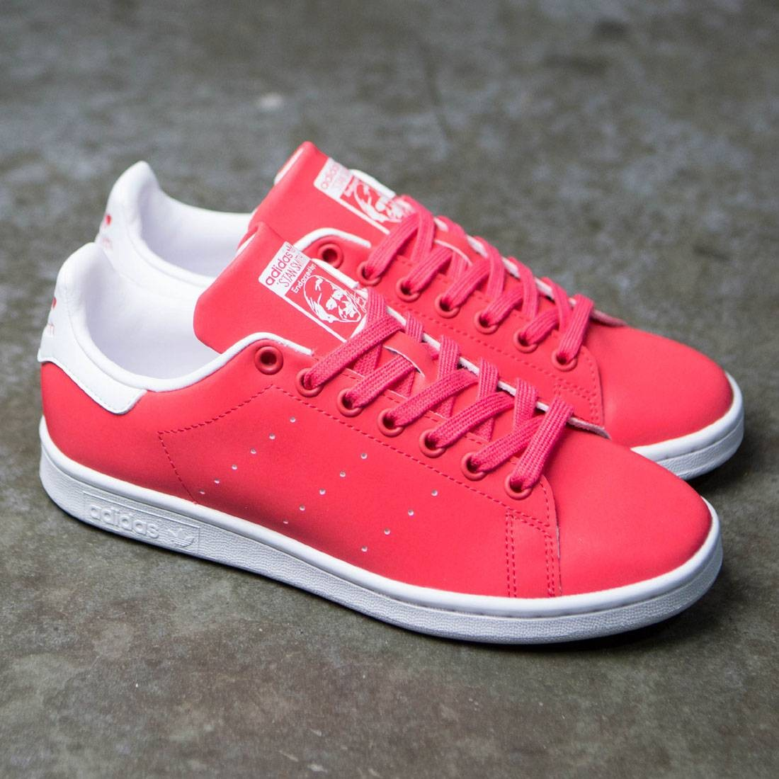 outlet store 093a9 688b7 Adidas Women Stan Smith (pink / core pink / footwear white)