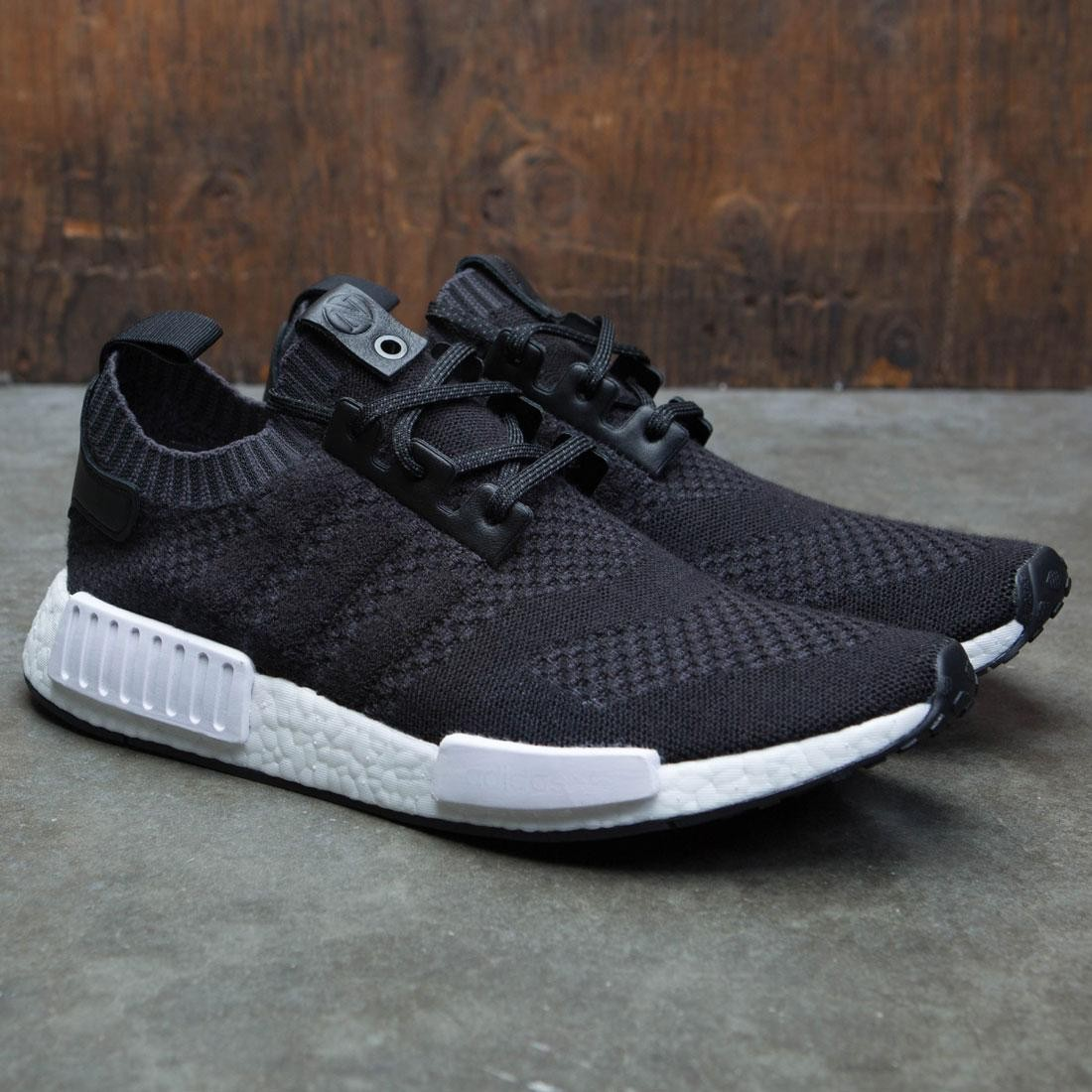 2a26aa7835a63 Adidas Consortium x A Ma Maniere x Invincible Men NMD R1 Sneaker Exchange  (black   night grey)