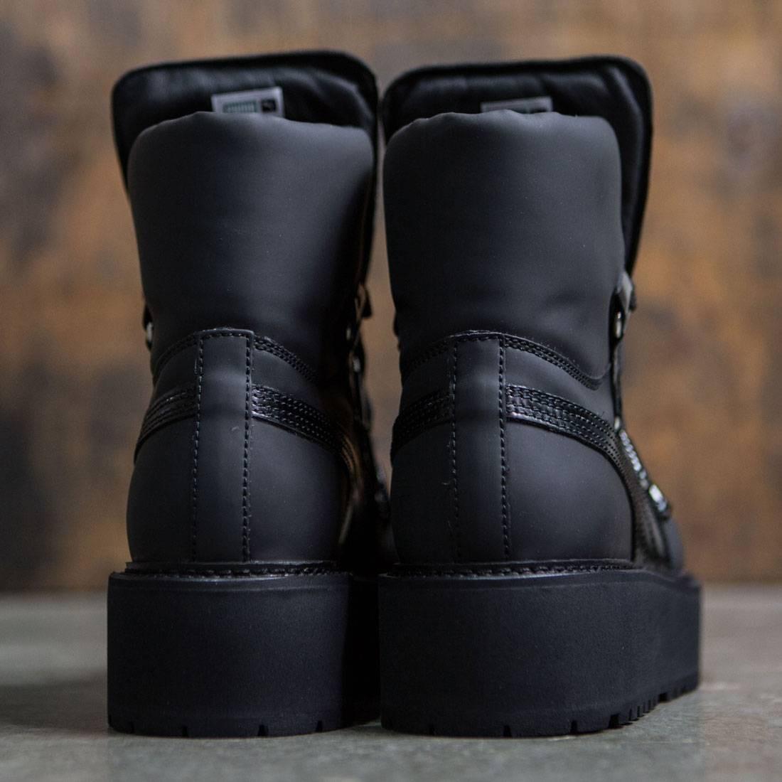 Puma SB Eyelet Rihanna Puma Black Black Black | Footshop