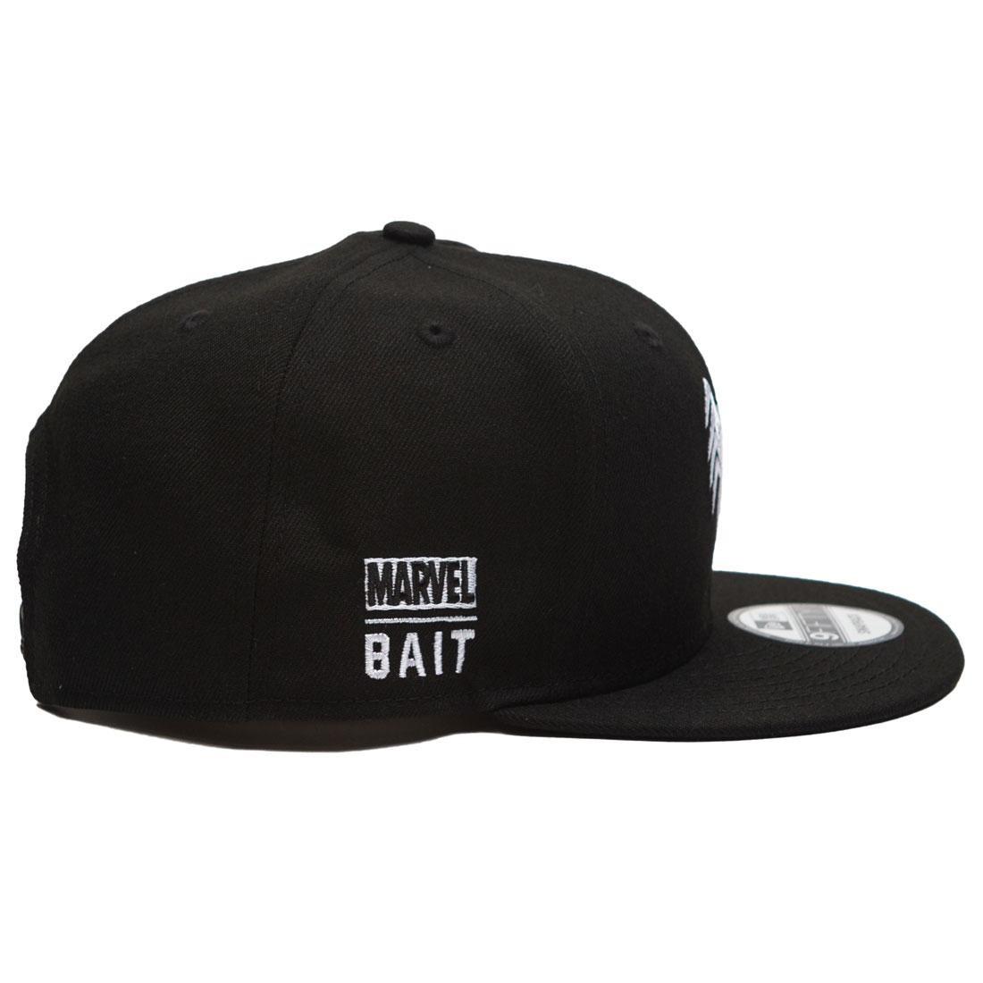 official photos c91c2 e0a48 ... wholesale bait x marvel x new era 9fifty venom logo black snapback cap  black 793b4 5d3a1