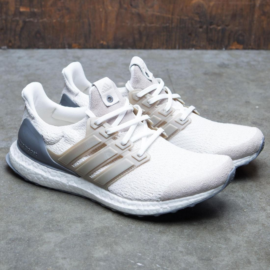 Adidas Consortium Men UltraBOOST Lux (white   vintage white   chocolate  brown) ac4f0ced7340