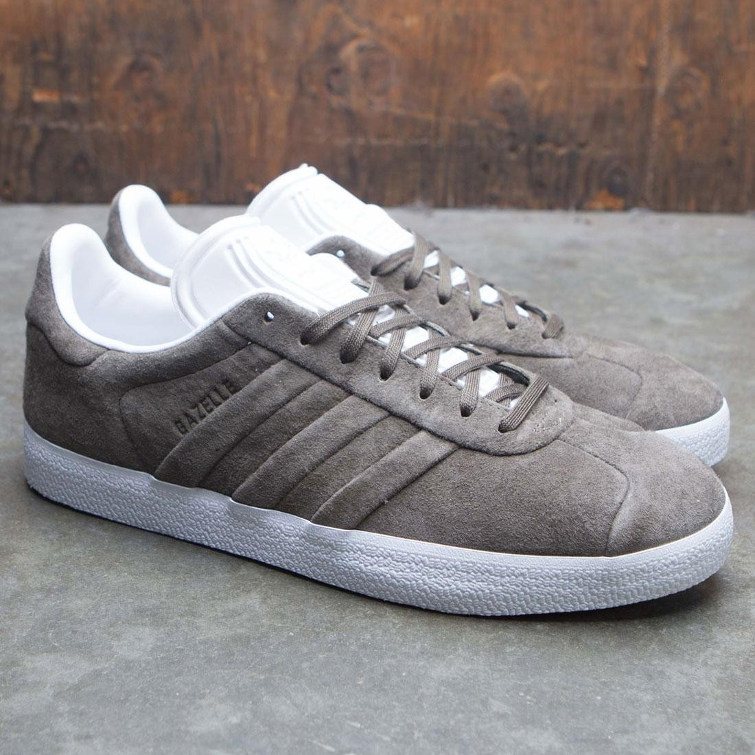 92dceaea9 Adidas Men Gazelle Stitch And Turn (olive / branch / footwear white)