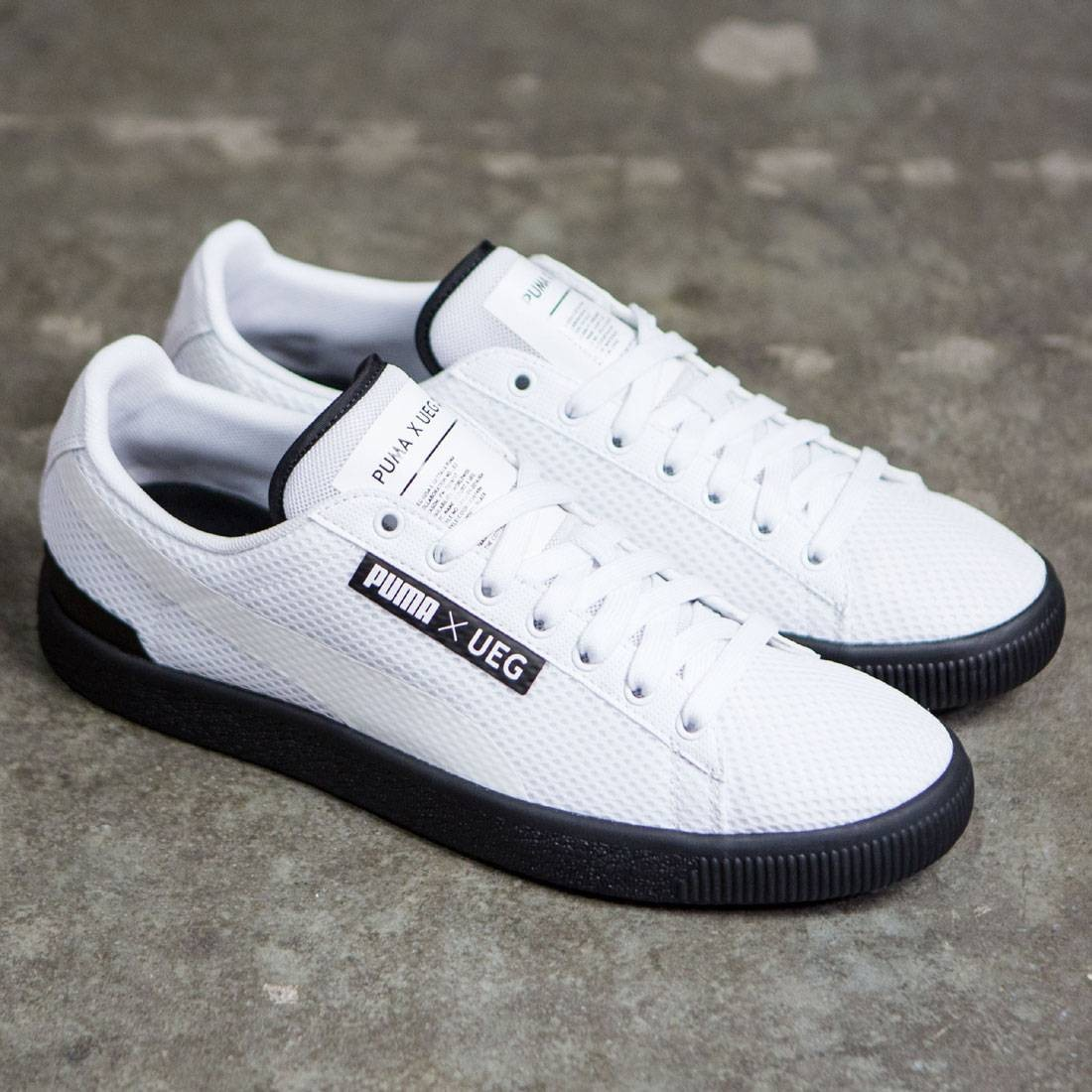 Puma x UEG Men Court (white   black) 9f840c17f