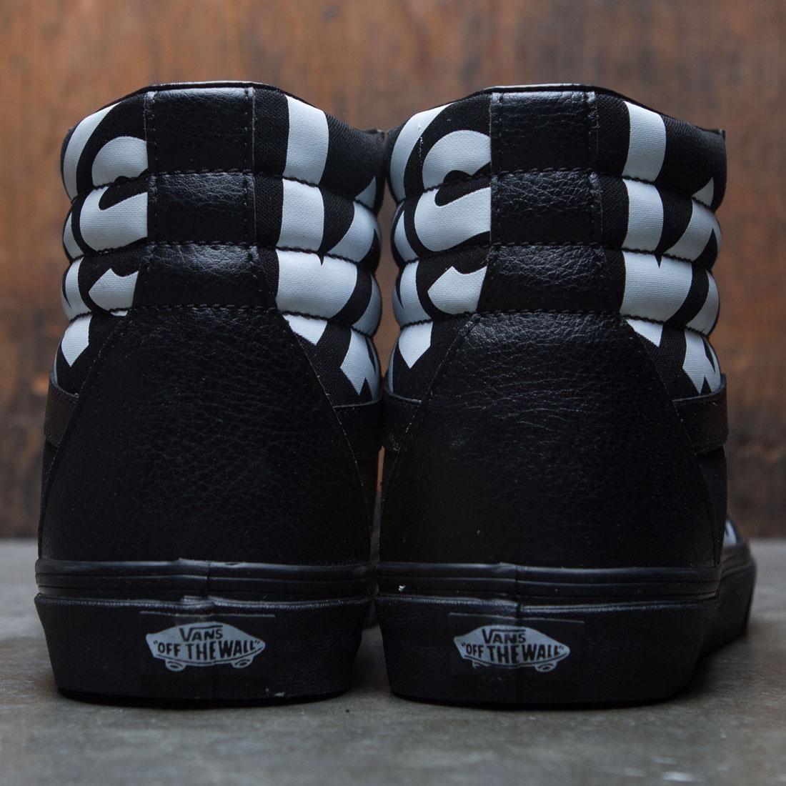 Vans Men SK8-Hi Reissue - Logo (black   white) 448a7bae2