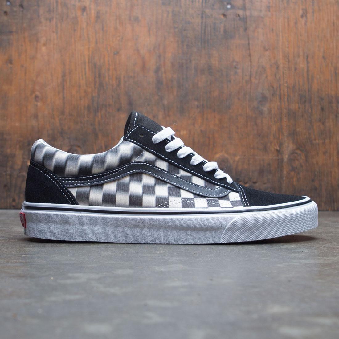 Vans Men Old Skool - Blur Check black white